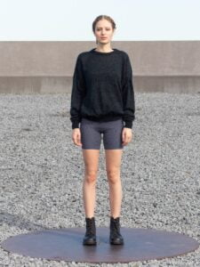 Sweater BOB Noir col O