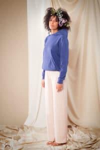 Pantalon Gaia rose tendre